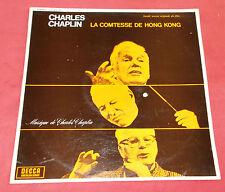 LA COMTESSE DE HONG KONG  LP BOF CHARLES CHAPLIN  ORIG FR