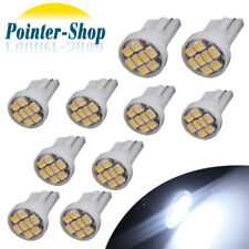 10x Super Bright T10 Cool White 8SMD LED Dome Map Interior Light Instrument Bulb