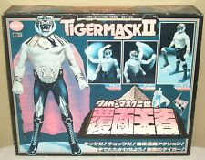 "Tiger Mask 2 II Masking Champion w/Box 14.2"" 36cm Figure Dolls Popy 1981 Rare"