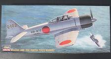 Hasegawa 51363 - Mitsubishi A6M3 ZERO FIGHTER - 1:72 - Flugzeug Bausatz - KIT