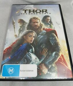 Thor - The Dark World DVD FREE SHIPPING