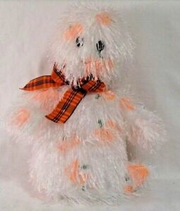 Ty Punkies Ghost White Orange Pumpkins Shriekers  Stuffed  Plush Animal Toy