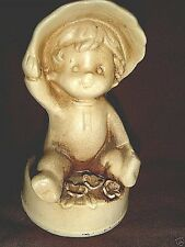 Very Old RARE Tan NAPCO Toddler in Longjohns & Bonnet - Wolin West Haven Conn