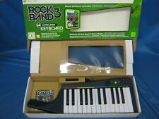 Official Microsoft Xbox 360 Rock Band 3 Wireless Keyboard & Game