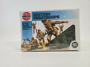 SDG Airfix 01723 British Paratroopers Soldiers Figures 1/72 Scale Model Kit NW