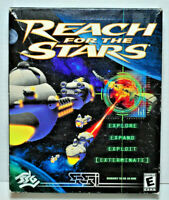 Reach for the Stars (PC, 2000 Game) Strategic Studies Group Win95/98 Big Box