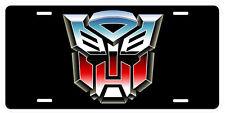 Transformers Autobot Aluminum Novelty Car License Plate