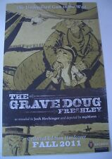 """SDCC """"Envy The Dead"""" Feeding Ground / Grave Doug Deeply  2-Sided  Poster 17 x 11"""