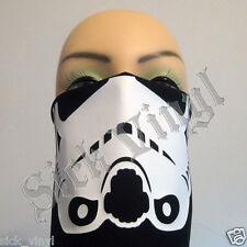 Bandana Face Mask Dust Mask Stormtrooper Matte White