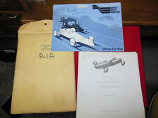 Vintage 1970 Soap Box Derby Manual and papers from original owner