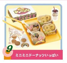 """Re-Ment """"DONUT TO GO #9-, So Many Mini Donuts!"""", 1:6 Barbie size kitchen food"""