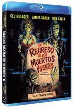 THE RETURN OF THE LIVING DEAD  (1985) **Blu Ray B**  Clu Gulager, James Karen