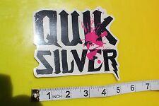 QUICKSILVER Pink Neon Hawaii Surfing Decal STICKER