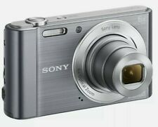 Sony Cyber-shot DSC-W810 20.1MP Digital Camera Silver