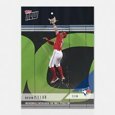 2018 TOPPS NOW #395 INCREDBILE CATCH OVER THE WALL STEALS HR - KEVIN PILLAR