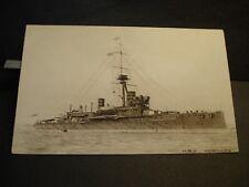 WWI era English Battleship HMS HERCULES Naval Cover TUCK's unused postcard