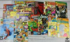 Lot of 183: Assorted Comic Books Marvel Dc Daredevil Avengers Spider-Man More!