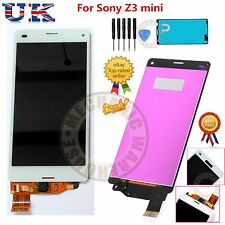 For Sony Xperia Z3 Mini Compact D5803 White LCD Display Touch Screen Digitizer
