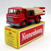 Atlas Dinky toys 588 Plateau Brasseur Berliet GAK Camion Diecast Models Red