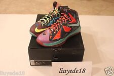 Lebron 10 what the mvp X premium championship sz 9 brand new DS james