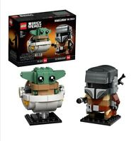 Star Wars The Mandalorian/Baby Yoda Lego BrickHeadz 75317 NEW RELEASE/SEALED