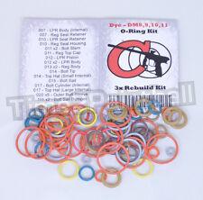 Dye DM8 DM9 DM10 DM11 Color Coded 3x Oring Rebuild Seal Kit O Ring O-ring