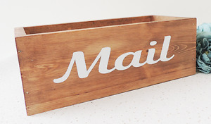 letter holder, wooden letter rack, mail box, post tray, hall tidy, hall decor
