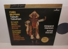 Sri 75116 McPhee tabuh-tabuhan Bloch Sinfonia breve SCHULLER sept études
