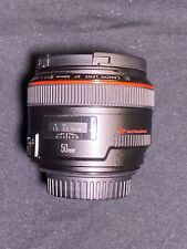 Canon EF 50mm F/1.2L USM Telephoto Lens (Mint Condition)