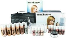 Professional Airbrush Makeup System,Fair- Tan  Master set Kit- Luminous