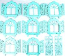 Vtg My Little Pony MLP Paradise Estate Replacement Parts Lot - Windows Doors