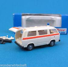 Roco h0 1355 vw t3 ambulance croix rouge rdc KTW camionnette HO 1:87 OVP ambulance