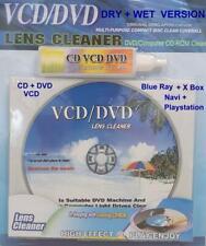Audiopipe Reinigungs CD + DVD mit antistatischen Bürsten mit Flüssigkeit TOP