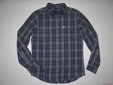 New Hurley Mens Unite Long Sleeve Woven Button Up Shirt Medium