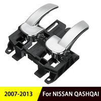 Silver Plastic Car Interior Door Handle For NISSAN QASHQAI 2007-2013 80670-JD00E