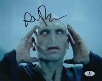 RALPH FIENNES SIGNED AUTOGRAPHED 8x10 PHOTO VOLDEMORT HARRY POTTER BECKETT BAS