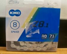 NEW KMC Z8.1 RB 8 SPPEED REPLACEMENT BICYCLE CHAIN RUST BUSTER USA 1STCLS S&H