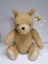 "Gund Classic Winnie the Pooh Bear Curly Jointed Plush 16"" Disney Stuffed"