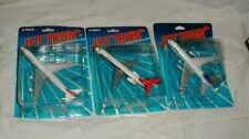 Lot-3 New 1990 Ertl Jet Tran Swissair 747 Dc-9 & Lufthansa Dc-10 Die-Cast Plane