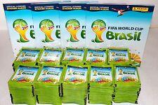 Panini WC WM BRASIL 2014 14 – 1000 TÜTEN PACKETS BUSTINE SOBRES + 4 x ALBUM