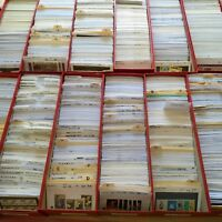 Worldwide Stamp Collection MNH - 550 Different from 80 Countries in Full Sets