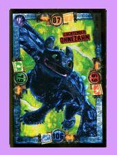 TRADING CARD, Drachenzähmen 3: LE 3 LEUCHTENDER OHNEZAHN