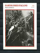 Starkarte Bartolomeo Pagano - Maciste all inferno  1926     (ST5)