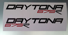 Daytona 675r Carenado Decal / Adhesivos (cualquier Color)
