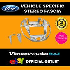 Ford B-Max 2012> Double Din Car Stereo Fascia Panel Adaptor Silver CT23FD42