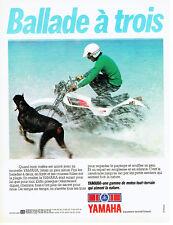 Publicité Advertising 028  1978   moto tout-terrain Yamaha