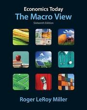 Economics Today: The Macro View (16th Edition) (Pearson Series in Economics), Ro