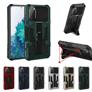 Heavy Duty Shockproof Armor Case Cover For Samsung Galaxy A12 S20 FE S21 Ultra