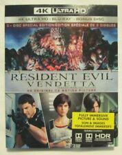 4K Ultra HD + Blu-Ray - Resident Evil Vendetta (Brand new)