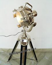 Studio Designer Floor Spotlight Searchlight Lamp With Adjustable Tripod Stand